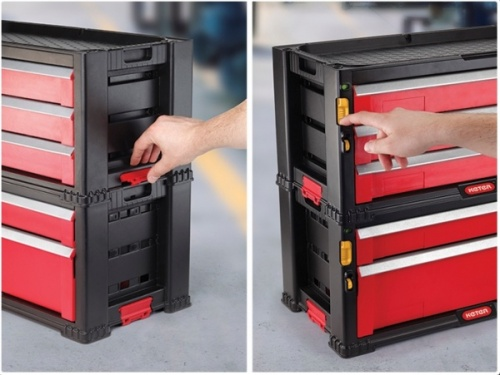 3 DRAWER TOOL CHEST SYSTEM